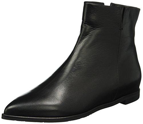 Oxitaly Damen Siria 40 Chelsea Boots Schwarz (Nero)