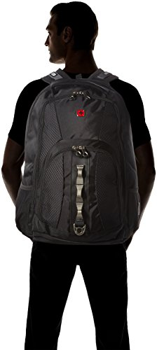 Swiss Gear Travel ScanSmart Backpack (Black) Image 4