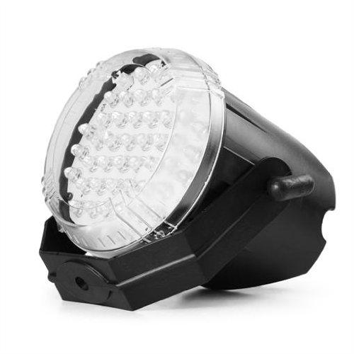 Beamz strobe LED effetto luce STROBO discoteca (48 LED rossi, controllo musicale, lunga durata)