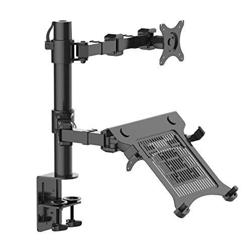 Thingy Club, verstellbarer Computermonitorarm / Halterung / Stütze (Pivot Pole Tilt)