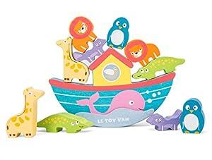 Le Toy Van - Juego de Arco de Equilibrio de Madera de Noah