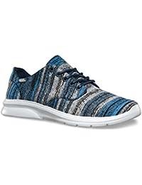 Vans ISO 2Italian Weave Zapatillas para hombre blau / grau / weiß