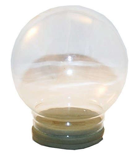 Snowglobe for you 40007 120mm-Ersatzglas/Bastelglas für Schneekugel