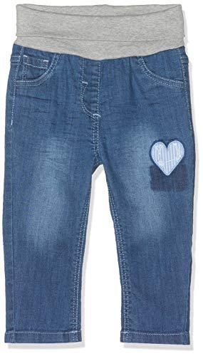 s.Oliver Baby-Mädchen 65.903.71.3390 Jeans, Blau (Blue Denim Stretch 56z7), (Herstellergröße: 92/REG) - Authentische Blue Jeans
