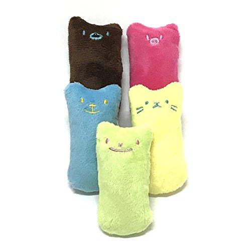 (Bissfestigkeit Katzenminze Spielzeug gefüllt Vocal Doll Dog Molar Zahn Reinigung Vocal Doll Set.)