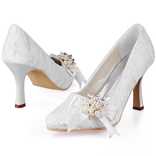 Casamento Das Marfim Kevin Moda Moda Mulheres Sapatos 8nnEFq