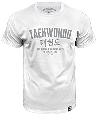 Taekwondo T-shirt The Korean Martial Arts (size Medium)