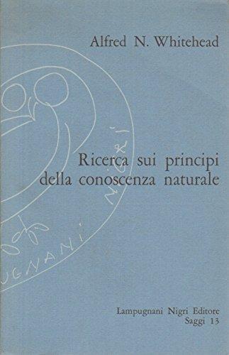 Ricerca sui principi della conoscenza naturale