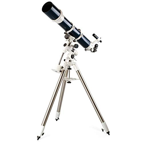 Moolo Astronomieteleskop Astronomisches Teleskop, Refraktion HD Deep Space Beobachtung 1000 Brennweiten Sternenbeobachtung Teleskope Teleskope