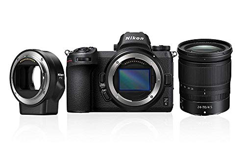 Nikon Z6 System Digitalkamera Kit 24-70 mm 1:4 S + FTZ Bajonettadapter