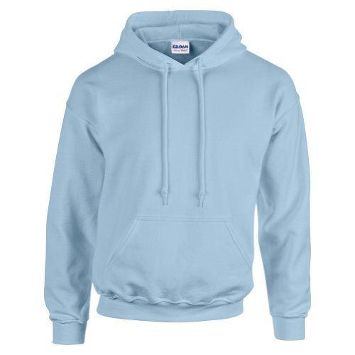 gildan-hooded-sweatshirt-heavy-blend-plain-hoodie-pullover-hoody-light-blue-s
