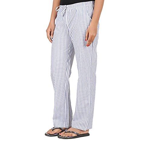antshrike Lot de 2en coton tissé femmes pour pyjama Pantalon pour homme Multicolore
