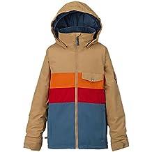 Burton Symbol Jacket–Cazadora de snowboard, otoño/invierno, niño, color Kelp Block, tamaño S