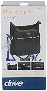 Drive DeVilbiss Healthcare Electric / Manual Wheelchair Back Pack Shopping Bag