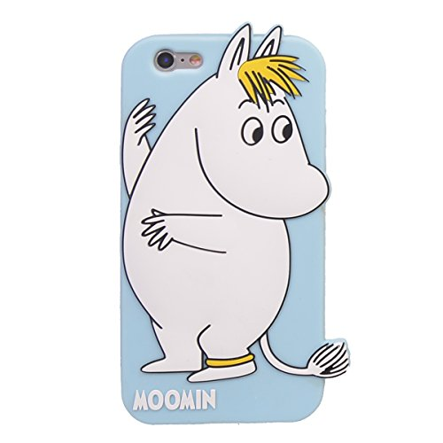 "iPhone 6/ 6s (4.7"") Hülle,COOLKE 3D Fashion Klassische Karikatur weiche Silikon Shell Schutzhülle Hülle case cover für Apple iPhone 6/ 6s (4.7"") - 007 002"