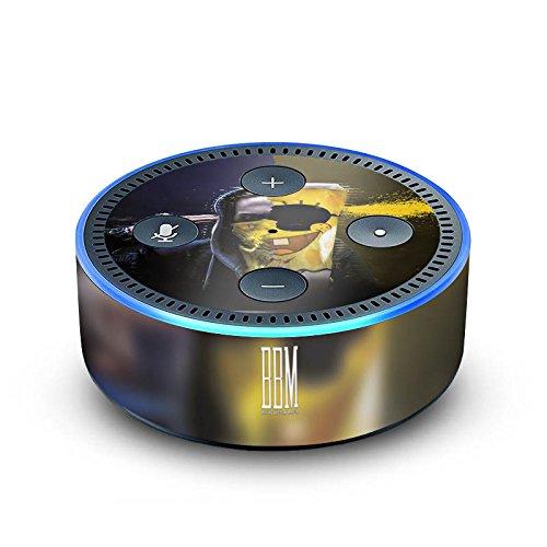 amazon Echo Dot 2.Generation Folie Skin Sticker aus Vinyl-Folie Spongebozz Fanartikel Merchandise Sun Diego