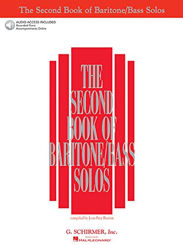 The Second Book of Baritone/Bass Solos [With 2 CD's] (Second Book of Solos)