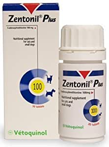 Zentonil Plus for Small Dogs & Cats 100mg (30 tablets) by Zentonil (English Manual)