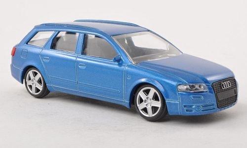 audi-a-4-avant-met-blau-modellauto-fertigmodell-mondo-motors-143