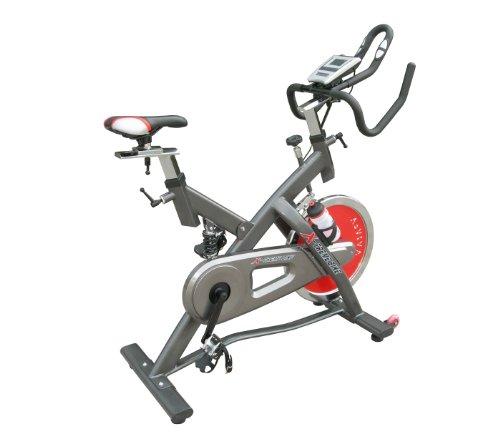 AsVIVA S5 Indoor Cycle Cardio V - ein Speedbike und Heimtrainer/Fitnessgerät für das Workout inkl. Geträkehalter und Trinkflasche - das Fitnessbike/Fitnessrad