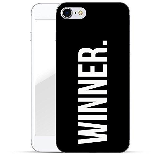 Motif Serie 2 Coque Pour Iphone - Bleu Marine Bois, Iphone 6 Plus / 6S plus Gagnant point noir
