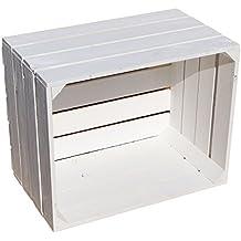 aus dem Alten Land - Caja de madera, color blanco