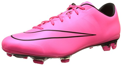 Nike Mercurial Veloce Ii Fg, Chaussures de Running Entrainement homme, Pink (Pink/Schwarz), 43