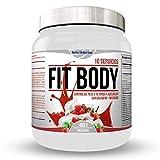 Substituts protéinés protéinés Régime brûle graisse + collagène/Shake complet pour perdre du poids (Chocolate Bombon) (Crème de fraises)
