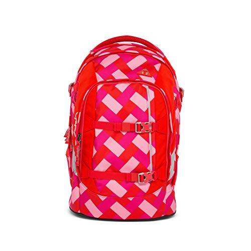 satch Pack ergonomischer Schulrucksack für Mädchen und Jungen - Chaka Cherry