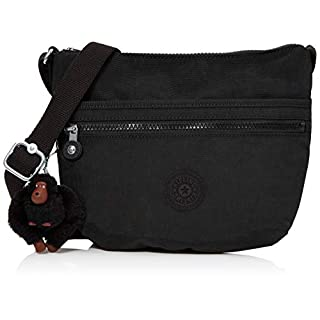Kipling Arto S, Women's Cross-Body Bag, Black (True Black), 25x21x3 cm (B x H x T)