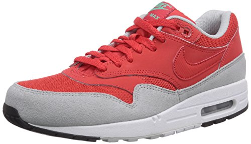 Nike Air Max 1 537383, Herren Low-Top Sneaker Rot (Daring Red/Daring Red/Gry Mist)