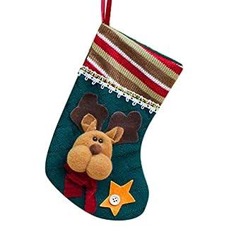chritsmas calcetín Calcetines de Navidad de Navidad bolsa de regalo bolsa de regalo Árbol de Navidad Colgante, el innovador regalo navidad decorativa calcetín depende Papá Noel