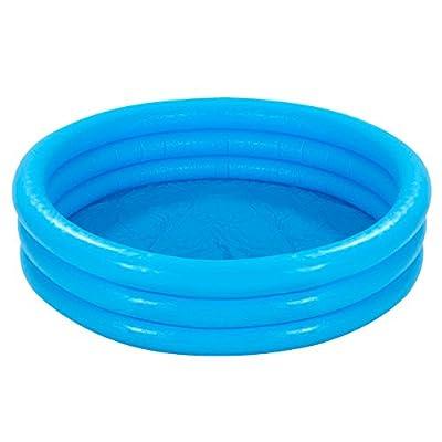 Intex 59416NP Crystal Blue Three Ring Inflatable Paddling Pool 1.14m x 25cm