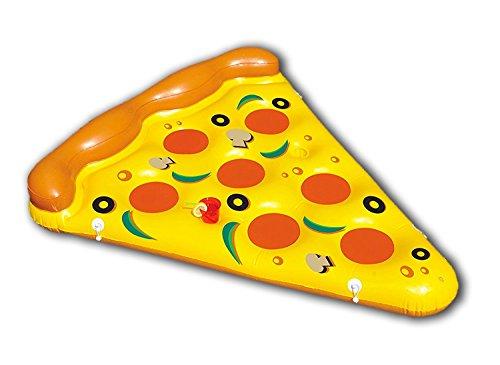New Plast Plast-0897 0897 Materassino Gonfiabile, Forma di Pizza, Peso 12 kg