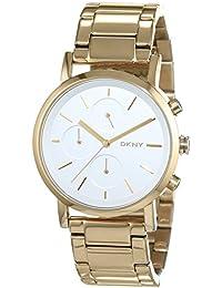 DKNY Damen-Armbanduhr Chronograph Quarz Edelstahl beschichtet NY2274