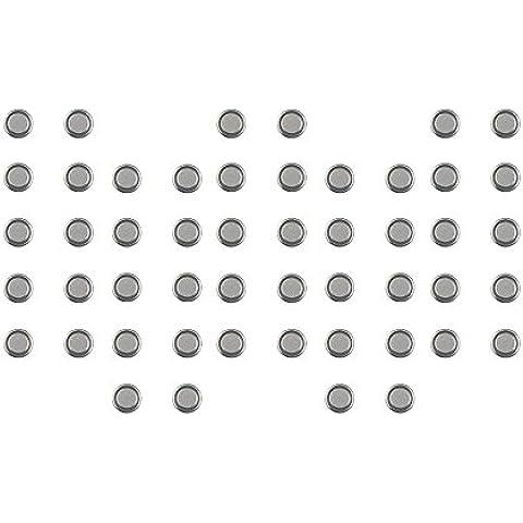 Camelion by com de Four® pilas alcalinas 1,5V de botón LR Set AG11 - 50 Stück
