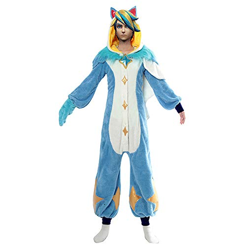 LOL League of Legends Cos Pyjamas Wächter Ezrealcosplay Kostüm Halloween Home (Ezreal Cosplay Kostüm)