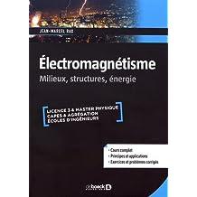 Electromagnétisme : Milieux, structures & énergie