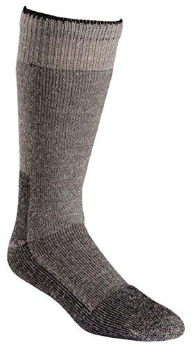 Fox River Wool Work Heavyweight Cold Weather Mid-Calf Boot Socks, Large, Grey (Socks Fox Wool)