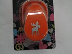 RAYHER HOBBY Rayher Moose Picture Punch, Diameter 2.54cm/1 Inch, Suitable for Paper/Card up to 200g/m², 3,81cm- 1,5 Zoll