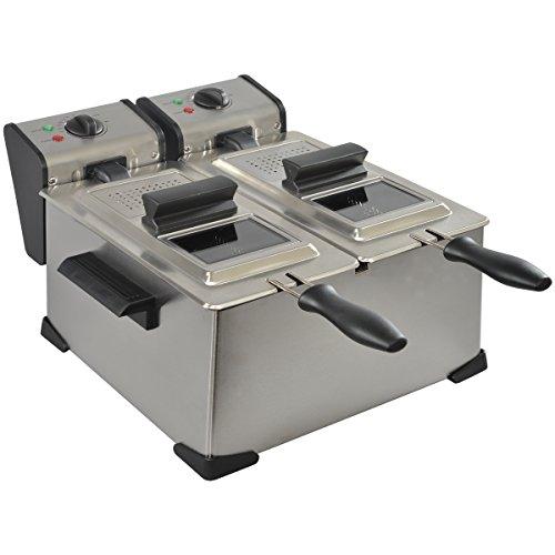 KitchenChef 2XDA35X - Freidora 7 L