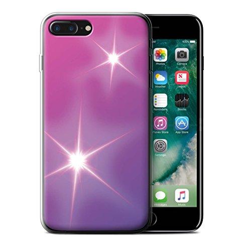 Stuff4 Gel TPU Hülle / Case für Apple iPhone 5/5S / Leuchtende Sterne Muster / Ombre Muster Kollektion Leuchtende Sterne