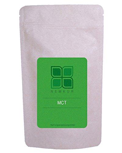 MCT Öl Pulver 200g - Mittelkettige Triglyceride aus deutscher Herstellung geeignet für Bulletproof Coffee - Kokos Öl Pulver - ketogene Diät - optimierter Energiestoffwechsel
