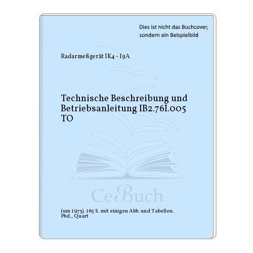 Technische Beschreibung und Betriebsanleitung IB2.76I.005 TO