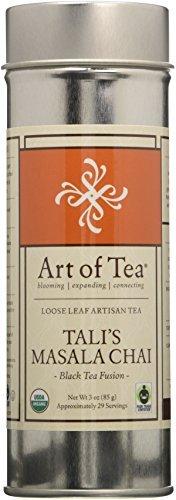 Tali's Masala Chai Organic Fair Trade Certified Loose Leaf Black Tea - 3oz Tin