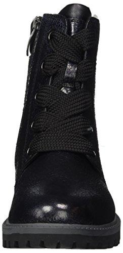 Tamaris Damen 26720 Combat Boots Schwarz (Black Struct)