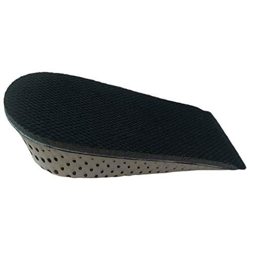 Hotaluyt 1 Paar Damen Herren Höhe erhöhen Schuhe Einlegesohle Eva Heel Hebeeinsätze Schuhbahnen Schuh Pads Aufzug -