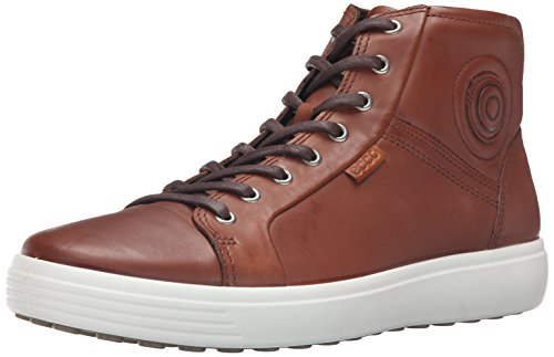 Ecco Herren Soft 7 Men's High-Top, Braun (2195mahogany), 41 EU (Herren High-cut)