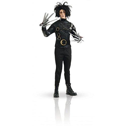Den Scherenhänden-Kostüm für Herren Einheitsgröße (Edward Scissorhand Handschuhe)