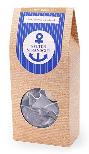 Schwarzer Tee im Pyramidenbeutel 2er Pack aromatisch Darjeeling 1st Flush Lucky Hill - Sylter Strandgut 15 Beutel Mehr Meer Sylter Teekontor